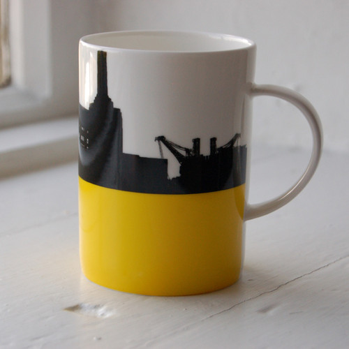 Jacky Al-Samarraie Battersea Power Station Bone China Mug
