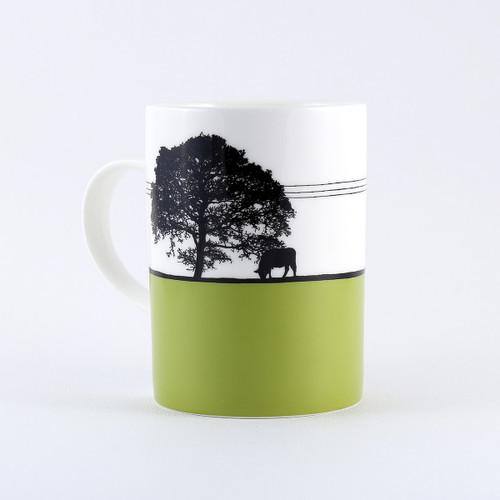 Yorkshire Landscape mug, Yeadon Leeds by Jacky Al-Samarraie