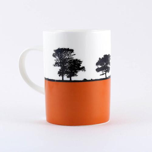 Yorkshire Landscape mug, Ilkley by Jacky Al-Samarraie