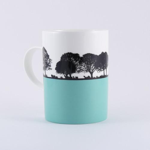 Yorkshire Landscape mug, Calverley Leeds by Jacky Al-Samarraie
