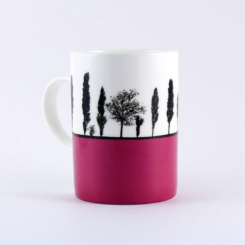 Yorkshire landscape mug, Armley Leeds by Jacky Al-Samarraie