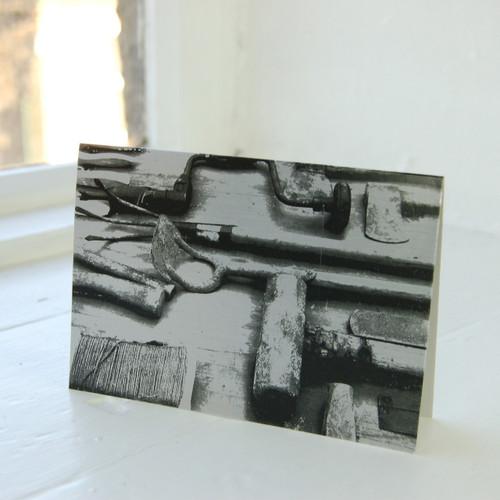 Jacky Al-Samarraie Mixed Tools Hoe Greeting Card