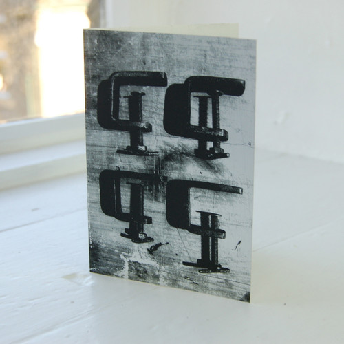 Jacky Al-Samarraie G Clamps Greeting Card