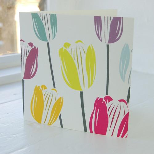 Jacky Al-Samarraie Tulips Greeting Card