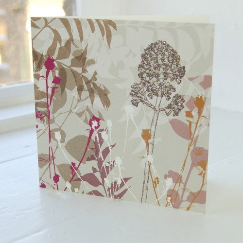 Jacky Al-Samarraie Buddlia Greeting Card