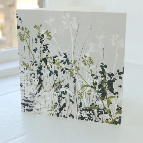 Jacky Al-Samarraie Meadow Grass Greeting Card