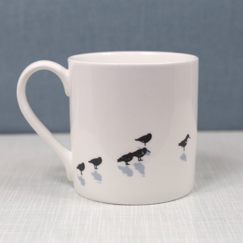 Jacky Al-Samarraie Oystercatchers Bone China Mug