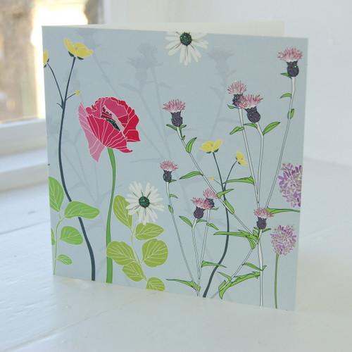 Jacky Al-Samarraie Poppy Greeting Card