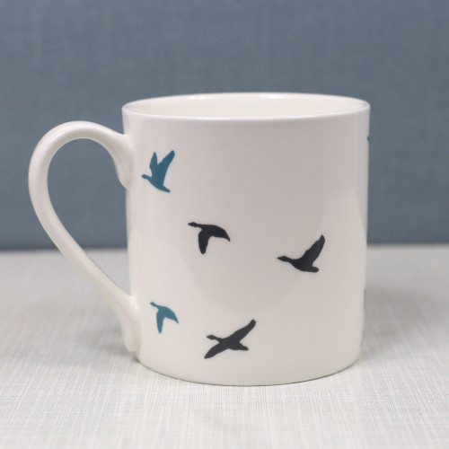 Jacky Al-Samarraie Flying Ducks Bone China Mug