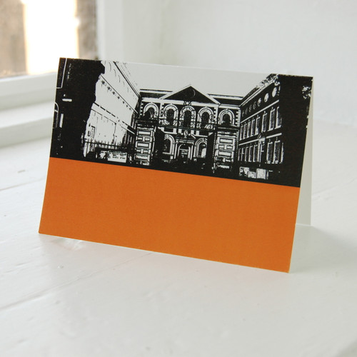 Jacky Al-Samarraie Bluecoat Chambers Greeting Card