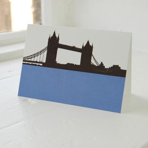 Jacky Al-Samarraie Tower Bridge Greeting Card