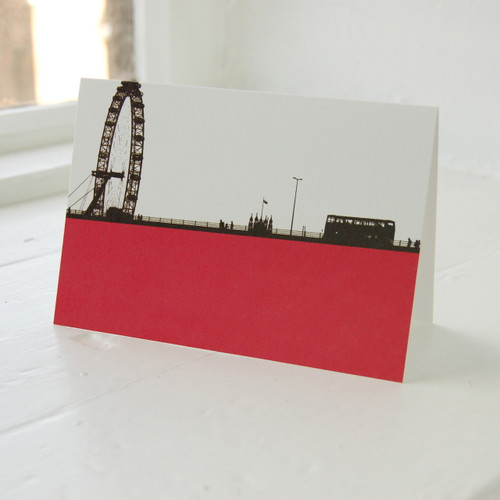 Jacky Al-Samarraie London Eye Greeting Card