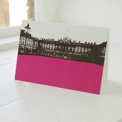 Jacky Al-Samarraie Somerset House Greeting Card