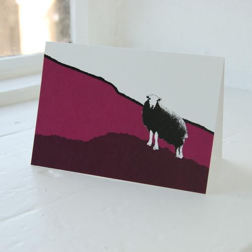 Jacky Al-Samarraie Hardknott Pass Greeting Card