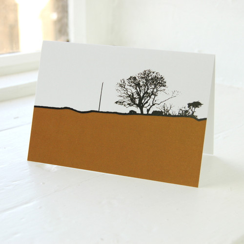 Jacky Al-Samarraie Dumfries & Galloway - Borgue Greeting Card