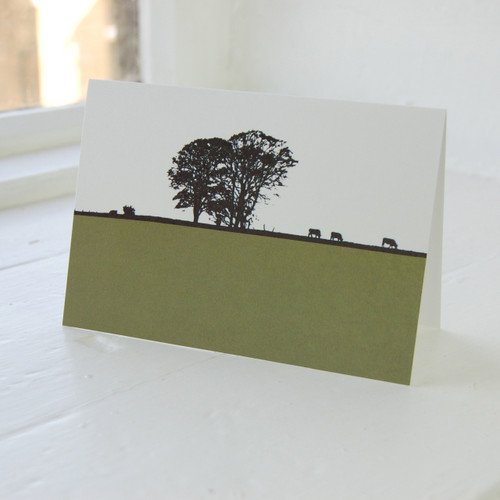 Jacky Al-Samarraie Dumfries & Galloway - Twynholm Greeting Card