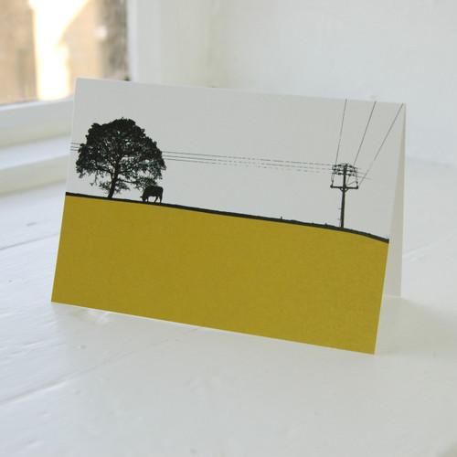 Jacky Al-Samarraie Leeds - Yeadon Greeting Card