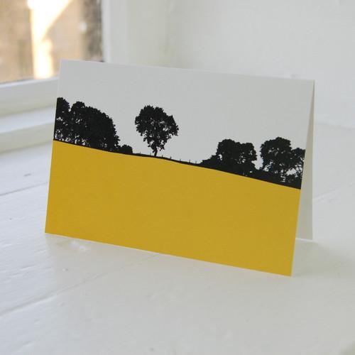 Jacky Al-Samarraie Dales - Kettlewell Greeting Card
