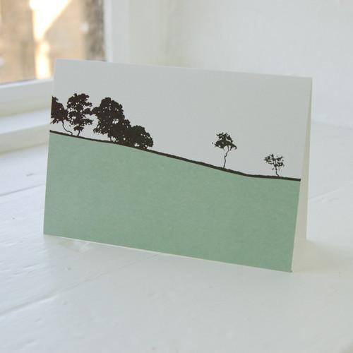 Jacky Al-Samarraie Dales - Threshfield Greeting Card