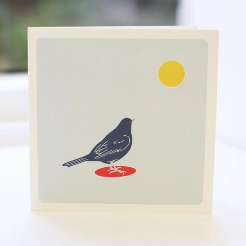 Jacky Al-Samarraie Blackbird Spot Greeting Card