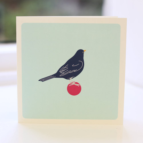 Jacky Al-Samarraie Blackbird Ball Greeting Card