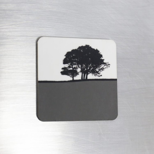 Jacky Al-Samarraie Fridge Magnet - Grey