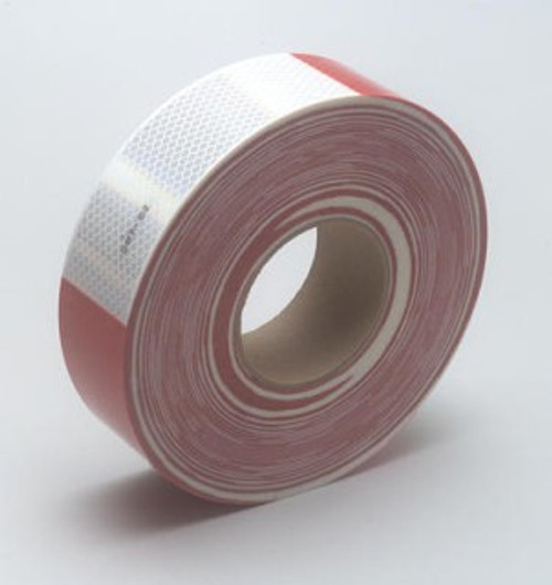 ROLL REFLECT.SHEETING RED/WHITE