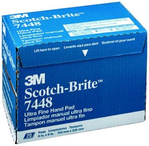 20/BX SCOTCHBRITE UL FINE PD GRY