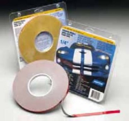 """NORTON 1/4""""X 20YD 2 SIDED ATTACHMENT TAPE GRY .045"""" THICK"""