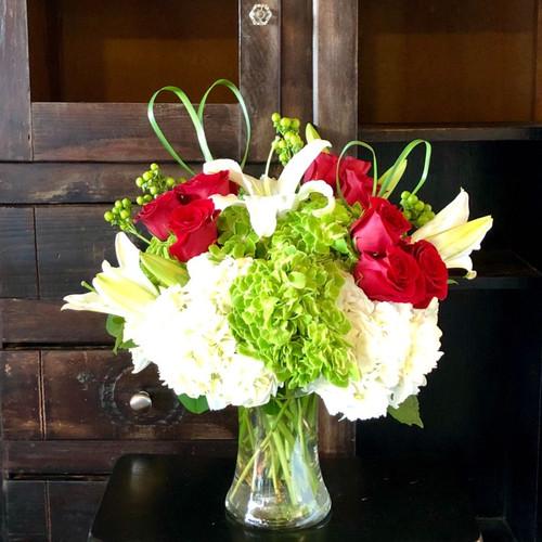 Rich In Love Bouquet Romance & Anniversary Midwood Flower Shop | Charlotte Florist Delivery Service