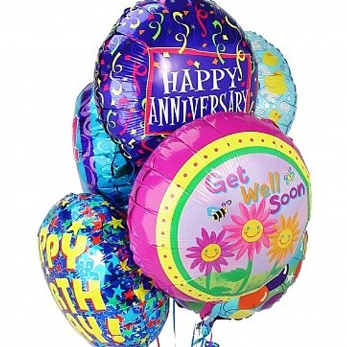 3 Mylar Balloons Add Ons Midwood Flower Shop | Charlotte Florist Delivery Service