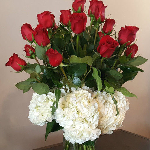 Love In The Clouds Romance & Anniversary Midwood Flower Shop | Charlotte Florist Delivery Service