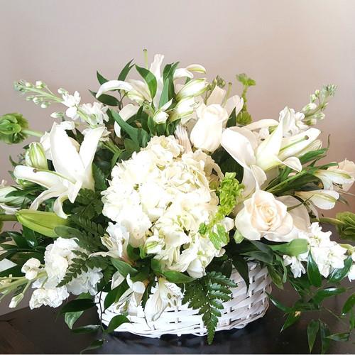 Basket of Memories Sympathy Flowers Midwood Flower Shop | Charlotte Florist Delivery Service