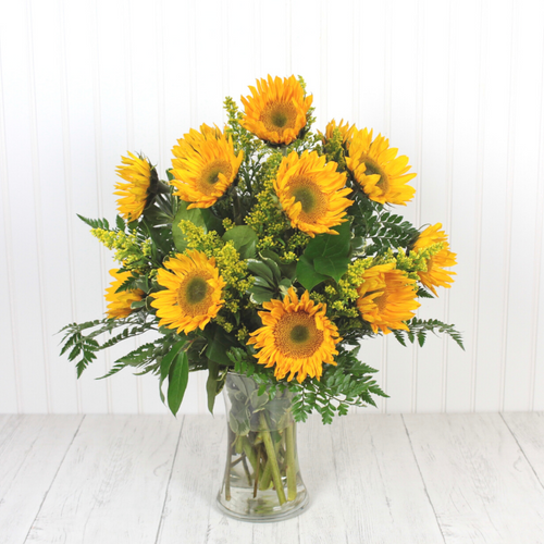 Happy Sunflowers Mother's Day Flowers Midwood Flower Shop | Charlotte Florist Delivery Service