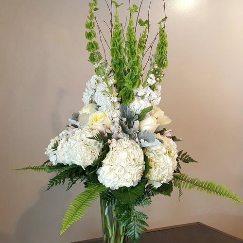 White Enchantment Sympathy Flowers Midwood Flower Shop | Charlotte Florist Delivery Service