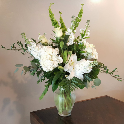 Simplicity Sympathy Flowers Midwood Flower Shop | Charlotte Florist Delivery Service