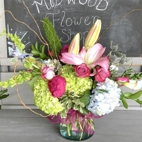 Garden Glamour Best Sellers Midwood Flower Shop | Charlotte Florist Delivery Service