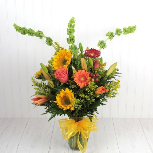 Golden Wishes Fall Flowers Midwood Flower Shop | Charlotte Florist Delivery Service