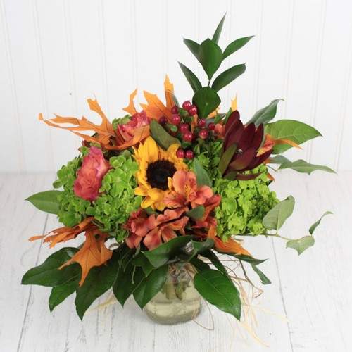 Fall Days Bouquet Fall Flowers Midwood Flower Shop | Charlotte Florist Delivery Service