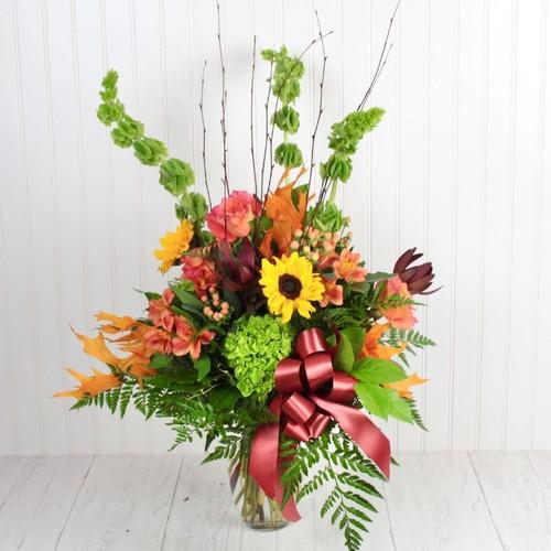 Autumn Blooms Hydrangea Midwood Flower Shop | Charlotte Florist Delivery Service