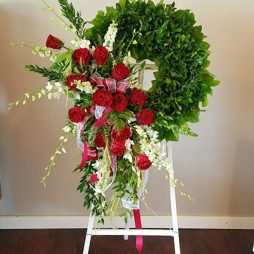 Eternal Rose Wreath