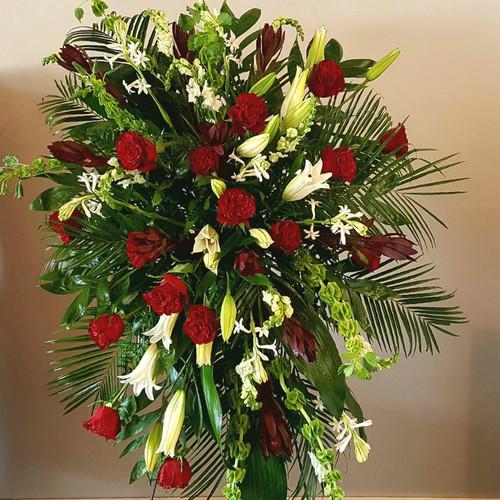 Cherished Farewell Sympathy Flowers Midwood Flower Shop | Charlotte Florist Delivery Service
