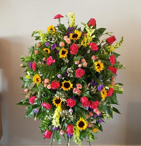 Garden Of Memories Sympathy Flowers Midwood Flower Shop | Charlotte Florist Delivery Service