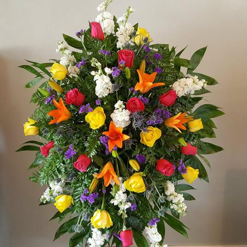 Bright Remembrance Sympathy Flowers Midwood Flower Shop | Charlotte Florist Delivery Service