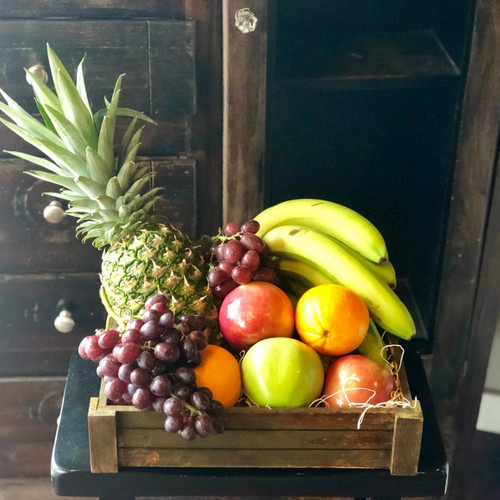 Fruit Crate Mother's Day Flowers Midwood Flower Shop | Charlotte Florist Delivery Service