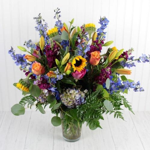 Grand Entrance Bouquet Birthday Flowers Midwood Flower Shop | Charlotte Florist Delivery Service
