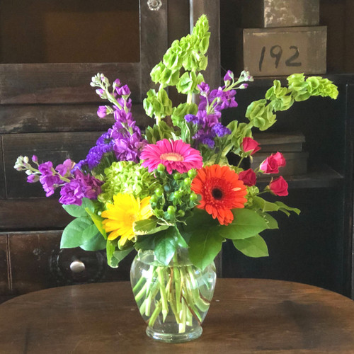 Bright & Stunning Bouquet Birthday Flowers Midwood Flower Shop | Charlotte Florist Delivery Service