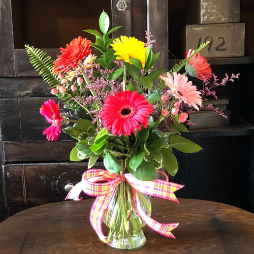 Oh Happy Day Bouquet Birthday Flowers Midwood Flower Shop | Charlotte Florist Delivery Service