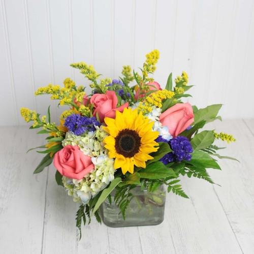 Summer Sunset Birthday Flowers Midwood Flower Shop | Charlotte Florist Delivery Service