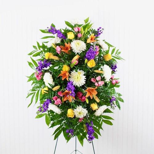 Sunset Tribute Sympathy Flowers Midwood Flower Shop   Charlotte Florist Delivery Service